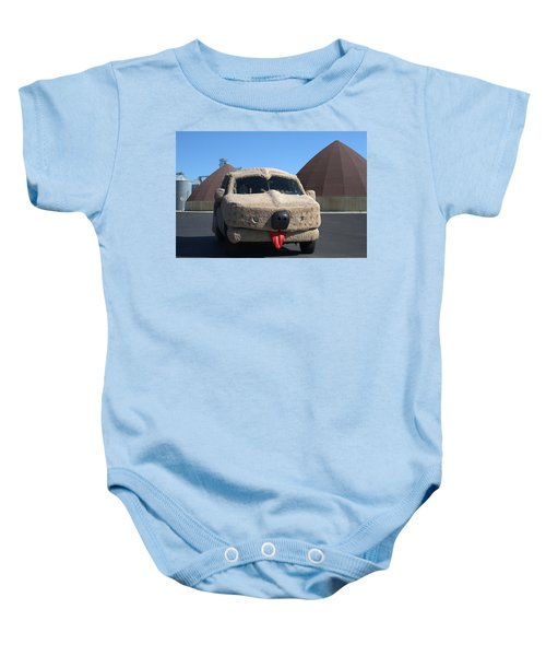 Mutt Cutts Dumb And Dummer Replica Vehicle Baby Onesie