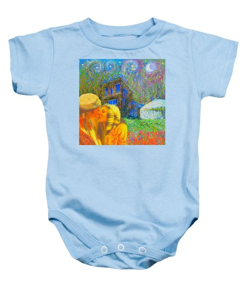 Nalnee And James Baby Onesie