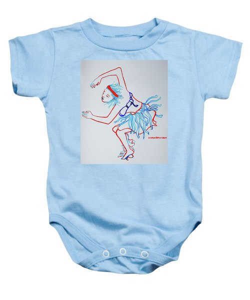 Namibian Traditional Dance Baby Onesie