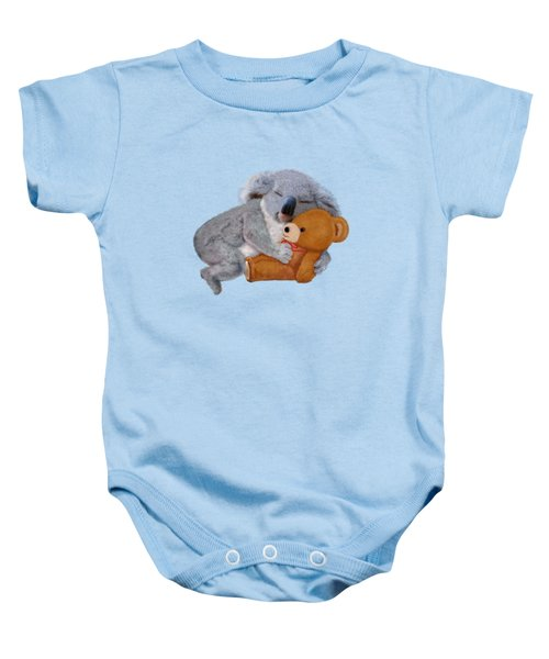 Naptime With Teddy Bear Baby Onesie