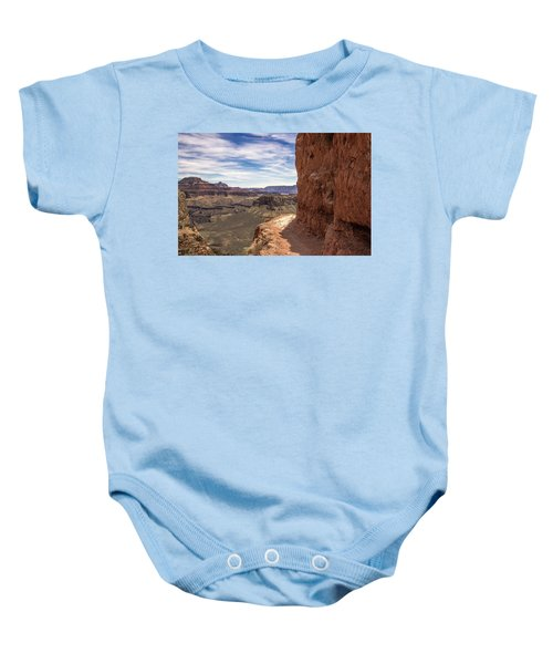 Narrow Trail On The South Kaibab Trail, Grand Canyon Baby Onesie