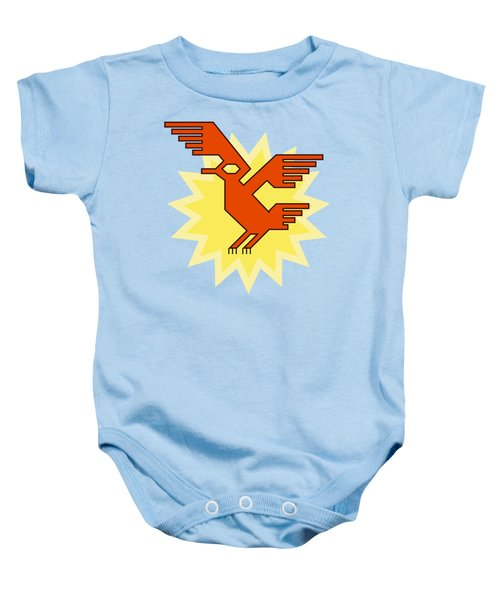 Native South American Condor Bird Baby Onesie