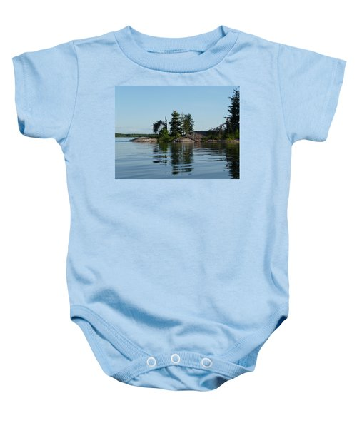 Natural Breakwater Baby Onesie