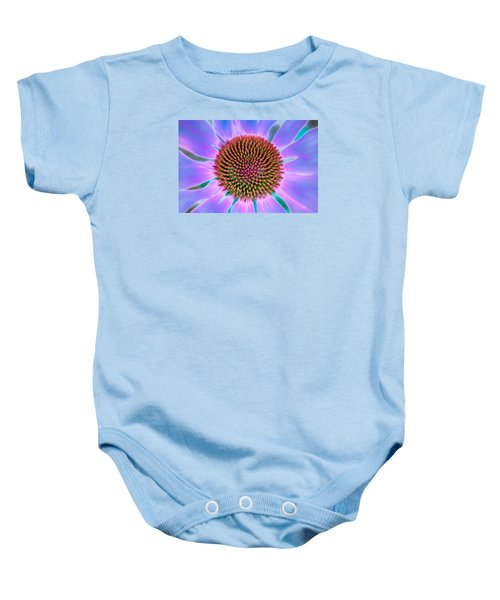 Natural Pattern Baby Onesie