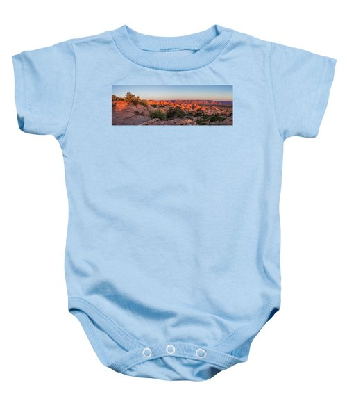 Navajo Land Morning Splendor Baby Onesie