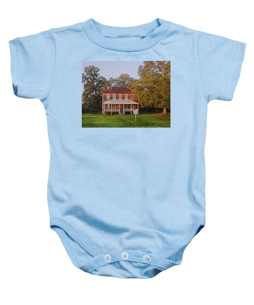 New Dawn On Old House Baby Onesie
