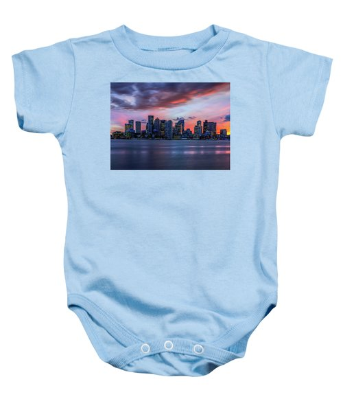 Night On The Town Baby Onesie