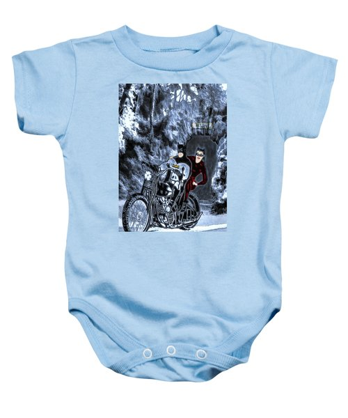 No Catwoman, This Is Not A Date Baby Onesie