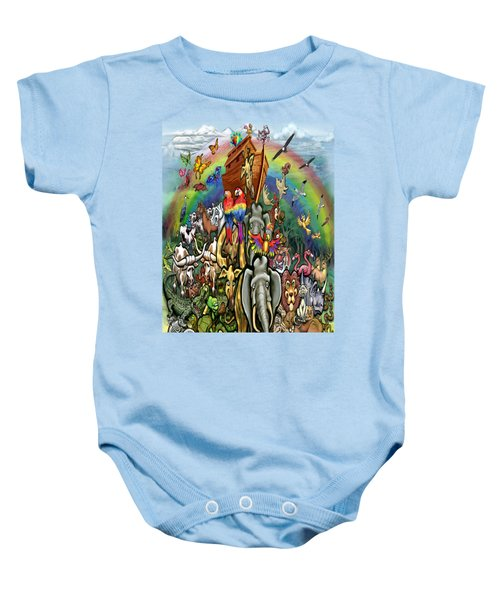 Noah's Ark Baby Onesie