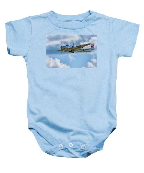North American B-25 Mitchell Baby Onesie