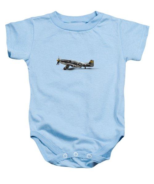 North American P-51 Mustang Baby Onesie