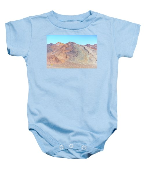Baby Onesie featuring the photograph North Of Avawatz Mountain by Jim Thompson