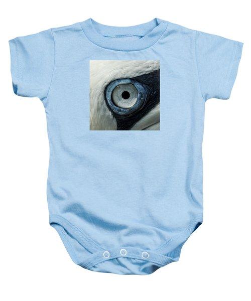 Northern Gannet Eye Baby Onesie