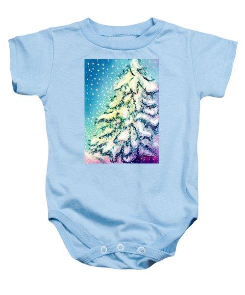 Northern Lights Baby Onesie