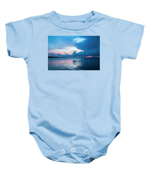 Now The Day Is Over Baby Onesie