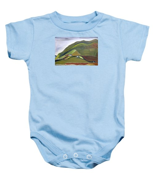 O Mountains That You Skip Baby Onesie