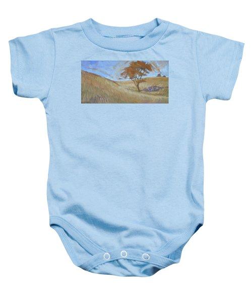 Oak Savanna, Autumn Baby Onesie
