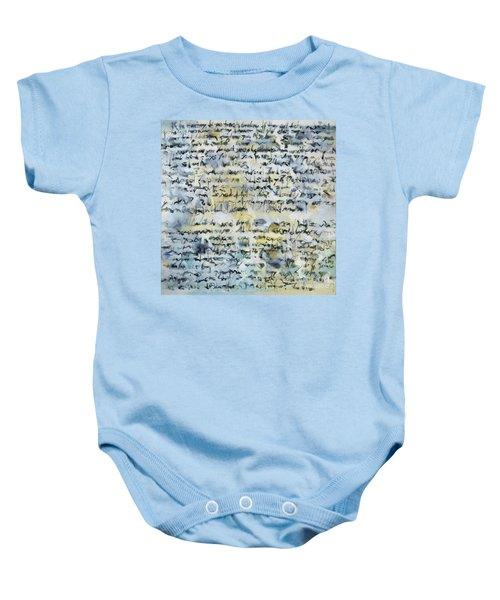 Obsessions Baby Onesie