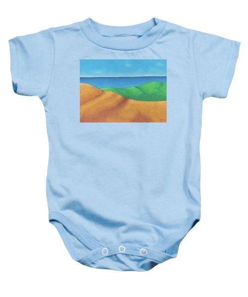 Ocean Daybreak Baby Onesie