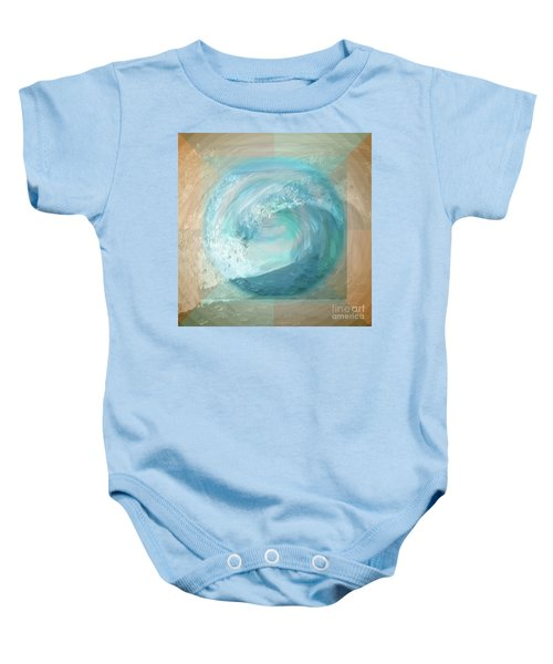 Ocean Earth Baby Onesie