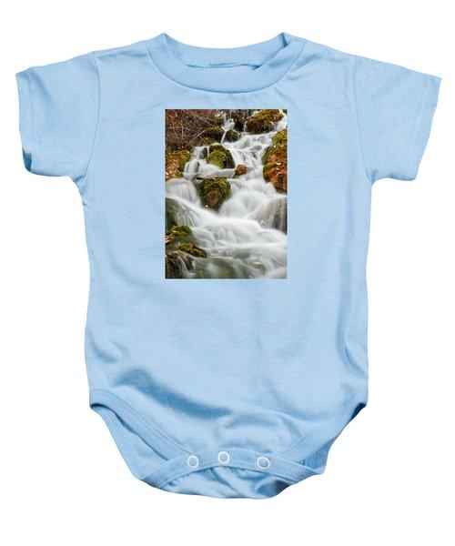 October Waterfall Baby Onesie