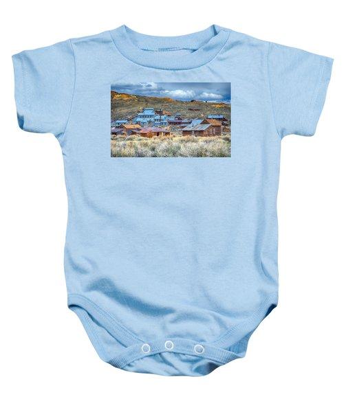 Old Bodie Gold Mining Town Baby Onesie