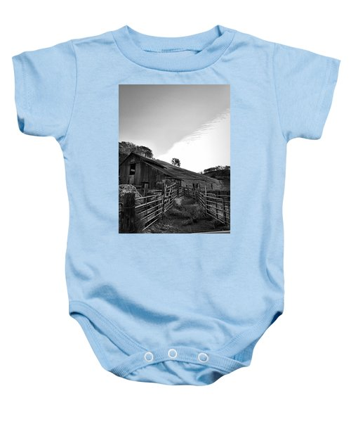 Old Borges Ranch Baby Onesie