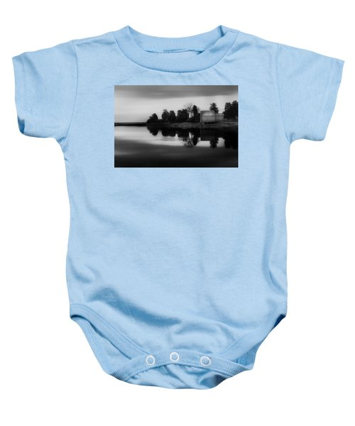 Baby Onesie featuring the photograph Old Cape Cod by Bill Wakeley