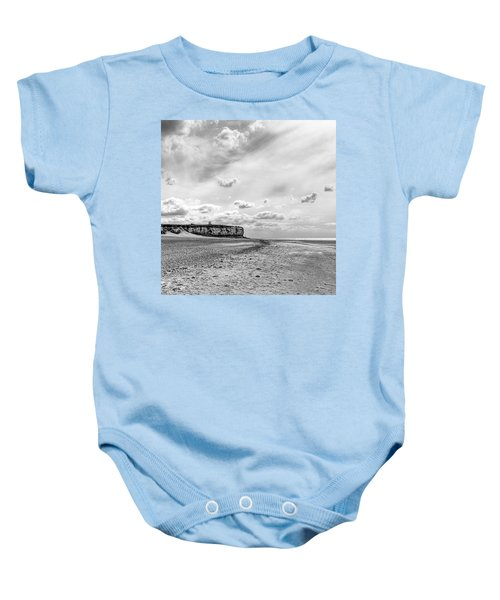 Old Hunstanton Beach, Norfolk Baby Onesie
