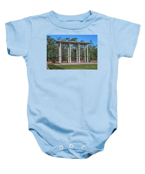 Old Student Union Arches Baby Onesie