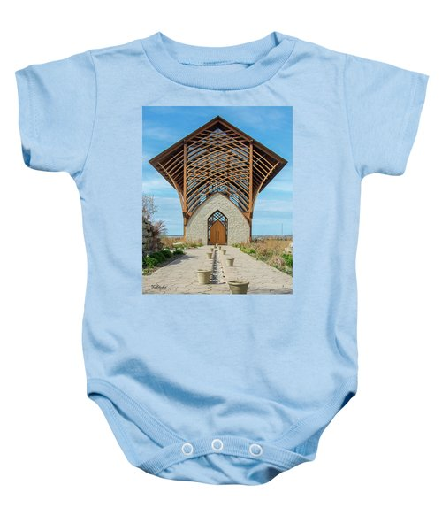 Omaha Holy Family Shrine Baby Onesie