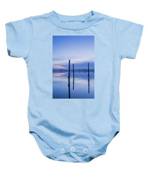 On A Couple Of Sticks Baby Onesie