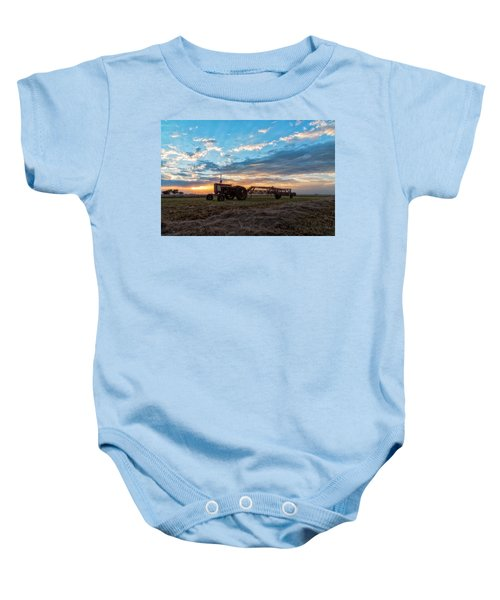 On The Farm Baby Onesie