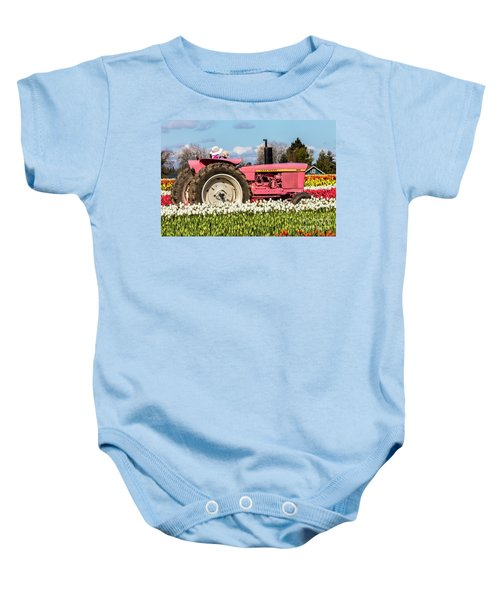 On The Field Of Beauty Baby Onesie