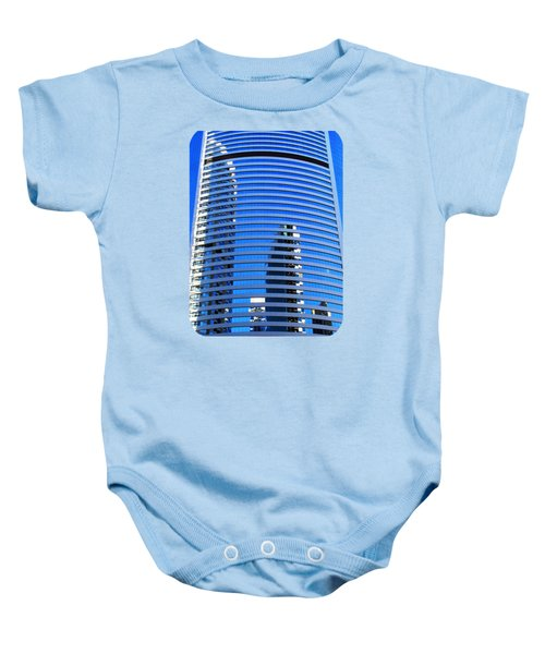 On The Lost Horizon Baby Onesie by Ethna Gillespie
