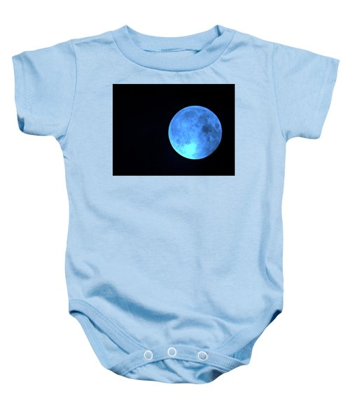 Once In A Blue Moon Baby Onesie