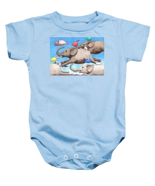 Only Way To Fly Baby Onesie