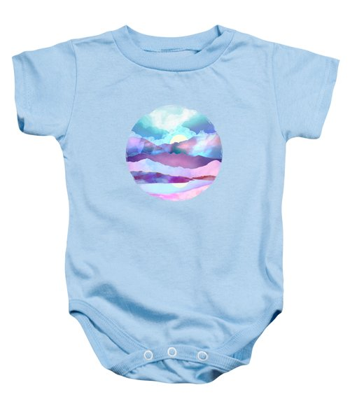 Opal Mountains Baby Onesie