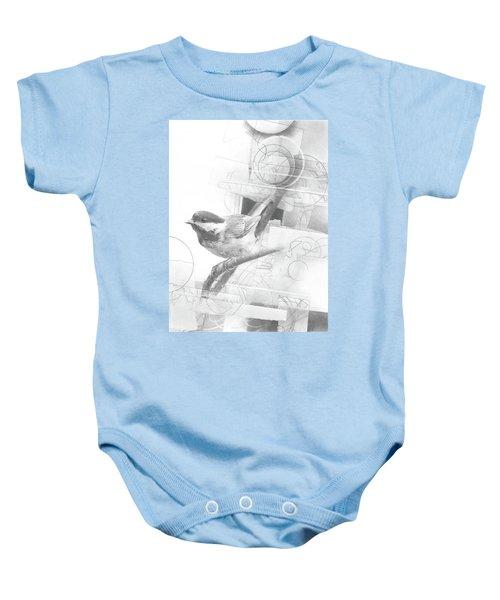 Orbit No. 2 Baby Onesie