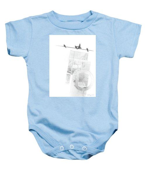 Orbit No. 3 Baby Onesie