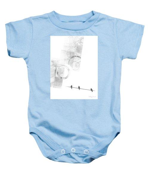 Orbit No. 4 Baby Onesie