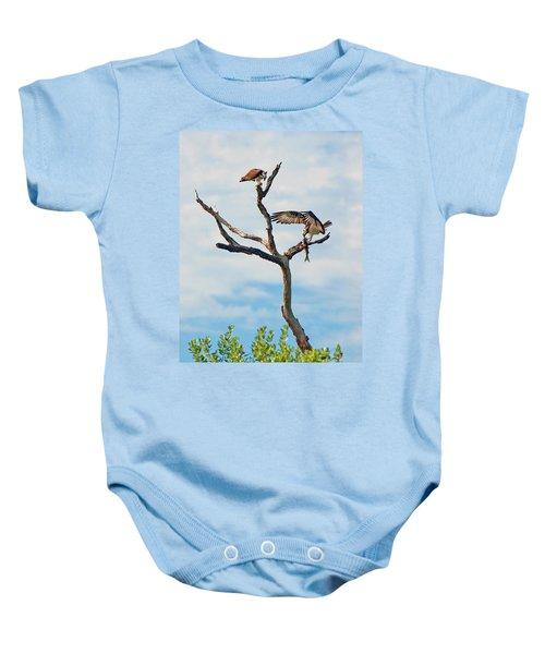 Osprey Feast Baby Onesie