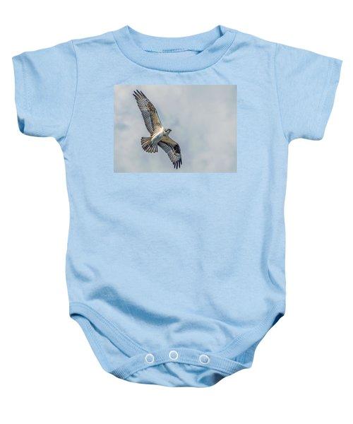 Osprey In Flight Baby Onesie