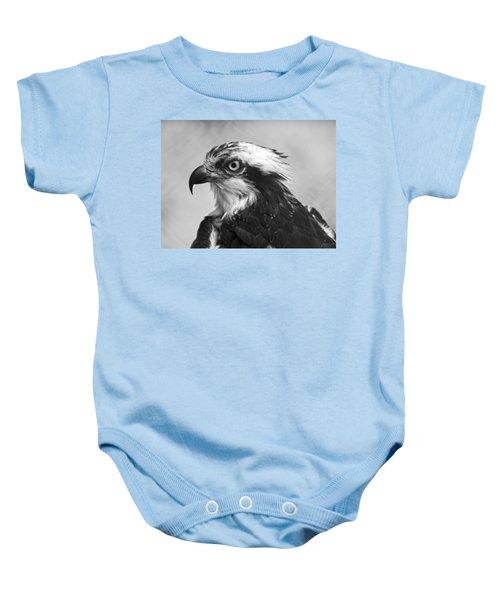 Osprey Monochrome Portrait Baby Onesie
