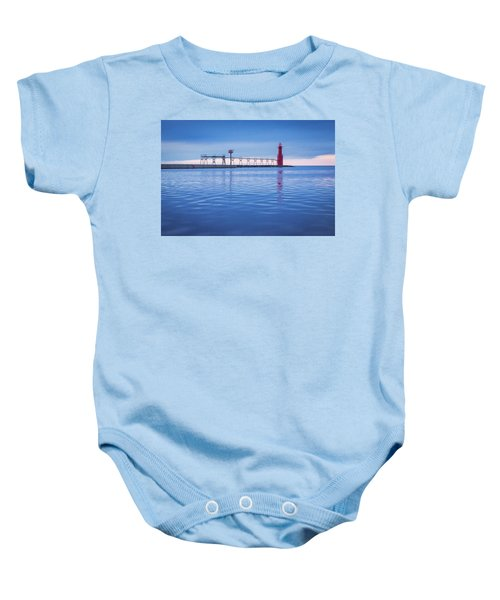 Baby Onesie featuring the photograph Out Of The Blue by Bill Pevlor