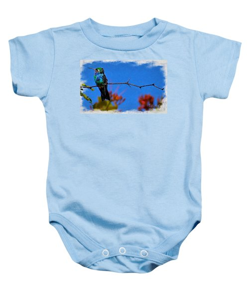 Out On A Branch Baby Onesie
