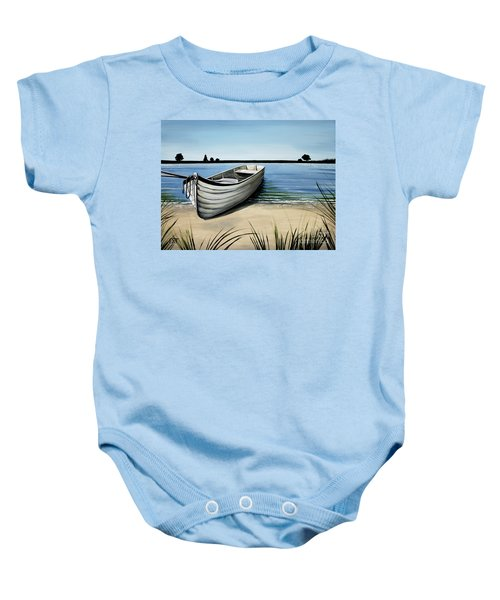 Out On The Water Baby Onesie