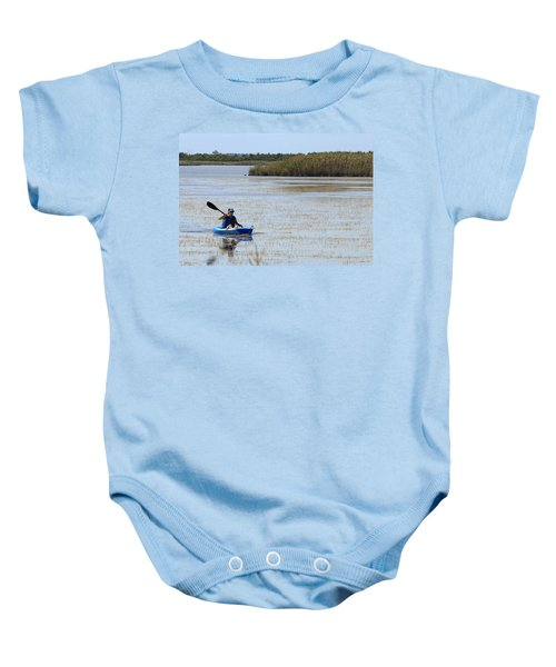 Paddle Away Baby Onesie