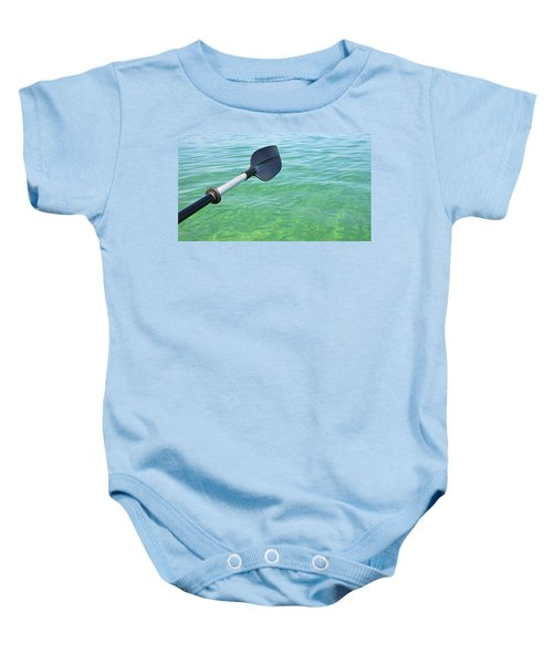 Paddling Grand Traverse Bay Baby Onesie