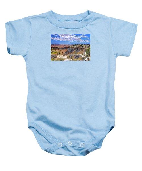 Painted Desert Of Utah Baby Onesie